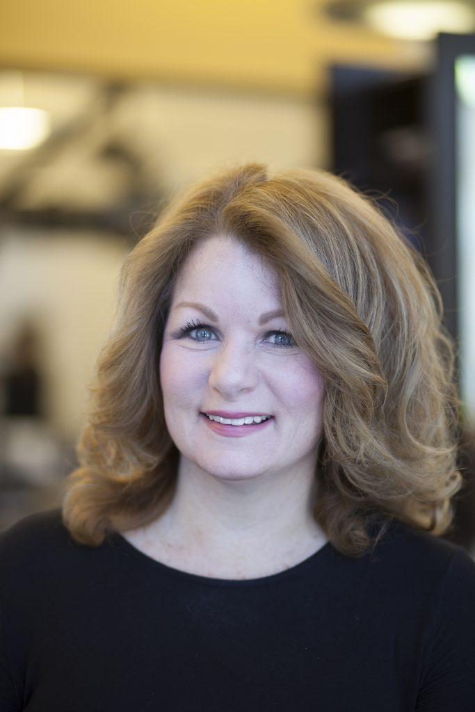 April Ann Miller - One of the best hair stylists of Treasure Coast - Michael Leonard's AVEDA Concept Hair Salon