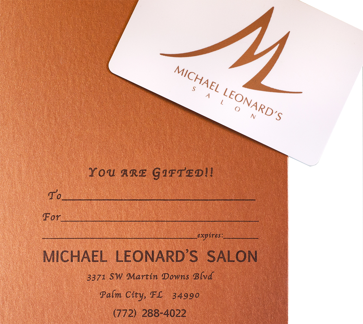 "gift cards from Michael Leonard""s"