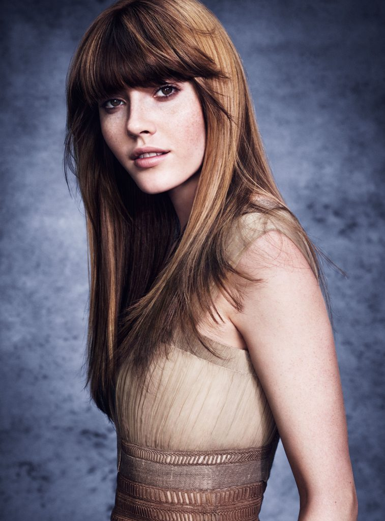 long hair style by Michael Leonards